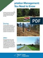 Vegetation Management Poster