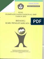 SOAL OSN SMP