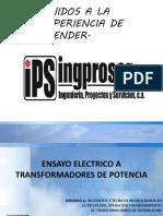 Ensayo Electrico a Transformadores de Distribucion (2) [Recuperado]