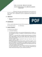 Informr Del Avance Del