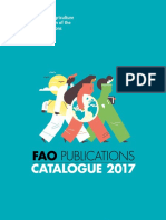 Fao Publications Catalogue 2017