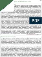 Manifiesto Del Partido Comunista en El Diccionario Soviético de Filosofía