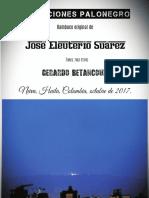 VARIACIONES PALONEGRO. Original de José Eleuterio Suárez. Transc. para piano Gerardo Betancourt.
