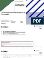 03 Technische Grundlagend Der Informatik Physik Und Elektrotechnische Grundlagen