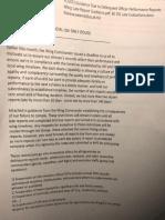 Performance Report MFR