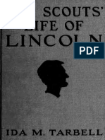 Boy Scouts Life of Lincoln 1921