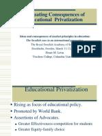 Swedish Educational Privatization 1