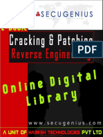 Cracking, Patching - Secugenius Security Solutions Reverse Engineering