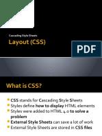 CSS intro