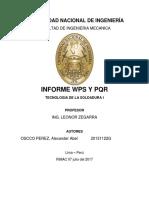 PQR SOLDADURA