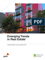 Pwc Emerging Trends in Real Estate 2018