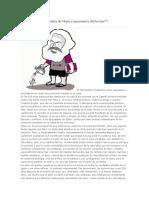 Una Laguna en La Obra de Marx o Ignorancia Del Lector
