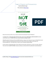 How Not to Die PDF Summary From Allencheng.com