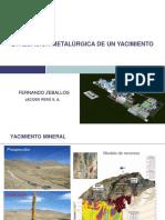 Evaluacion Metalurgica de Un Yacimiento