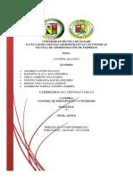 Proyecto de Control y Presupuesto