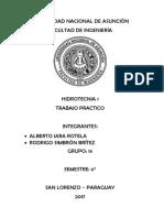 Tp Hidrotecnia Grupo 13 fiuna