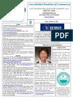 Carrabelle Chamber of Commerce E-Newsletter for October 27th