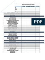 Registro Calidad Plataforma 3