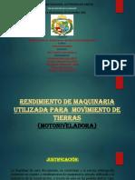 MOTONIVELADORAS