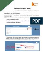 Instrucciones cuenta Pincel Ekade Web