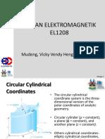 Circular Cylindrical Coordinates