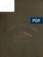 Farrow Mountain Scouting