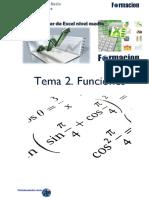 Manual Excel Medio - Funciones