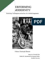 Performing Modernities