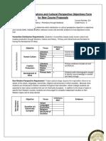 AHIS 201 Humanities Form