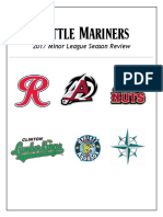 2017 Mariners MiLB Season Review