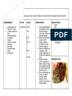 afiche receta