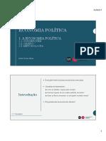 Aula EP - I Economia Política