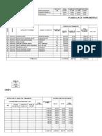 Planilla de remuneraciones en Excel .xlsx