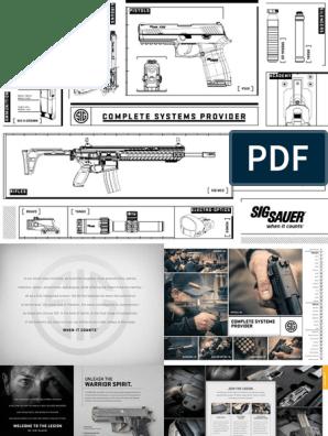 Sig Sauer Product Catalog | Trigger (Firearms) | Handgun