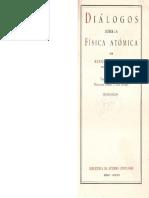 02 Heisenberg - Diálogos Sobre La Física Atómica (Caps. 13 y 20) (1)