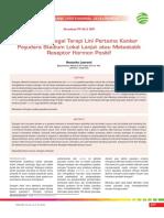 CPD 240-Letrozole Sebagai Terapi Lini Pertama Kanker Payudara Stadium Lokal Lanjut