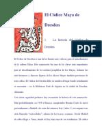 El Códice Maya de Dresden