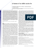 Art. 8 Abr - Immunogenicity in Humans of an Edible Vaccine for Hepatitis b