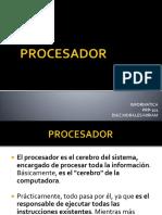 Informatica- Procesador