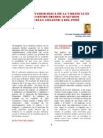 LA DIMENSIÓN IDEOLÓGICA DE LA VIOLENCIA.