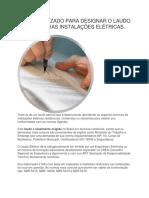 Termo Utilizado Para Designar o Laudo Técnico Das Instalações Elétricas