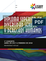 Diploma Superior en Diversidad Sexual y Derechos Humanos