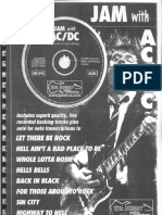 ACDC - Jam With ACDC [Guitar Tablature Songbook]