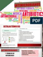 Antimicrobianos Grupo 1