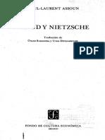 Assoun Paul-Laurent - Freud y Nietzsche