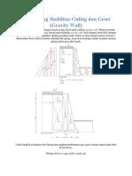 CARA Menghitung Stabilitas Guling dan Geser.docx
