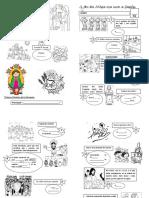 PARTES de LA MISA Dibujitos Examen