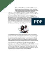 Pengaruh Negatif Dan Positif Lingkungan Terhadap Perilaku Remaja