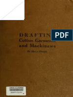 Drafting Cotton Garments and Mackinaws 1918