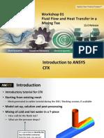 CFX-Intro 15.0 WS01 Mixing-Tee